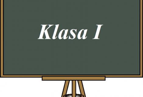 Klasa I- przydział do klas, obowiązujące przedmioty